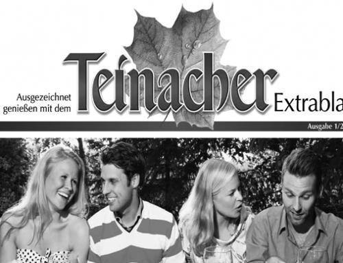 """K&D relauncht """"Teinacher Extrablatt"""""""
