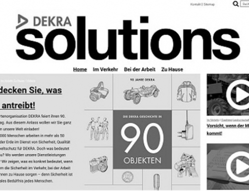 Motor Presse launcht Web-Magazin DEKRA SOLUTIONS