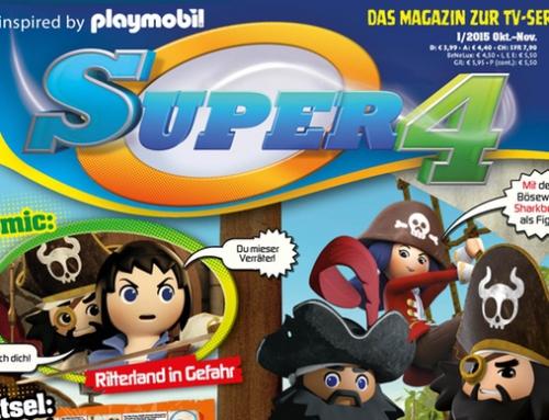 """Die """"Super 4"""" erhalten eine Zeitschrift"""