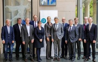 (v.l.) M. Grunert, I. Lube, R. Dienst, F-J Ohlhorst, C. Weinbrenner-Seibt, K. Kohlhammer, V. Breid, M. Gotta, K. Seidel, M. Hartung, R. Reisch, P. Priesmann
