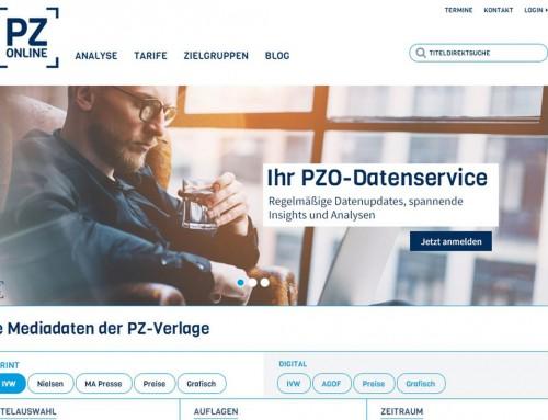 PZ-Online: Neues Design und User Experience