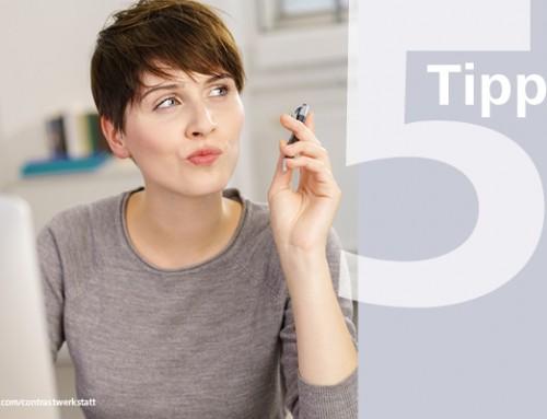 Fünf Tipps für alle Medienprofis: Mit Sicherheit zu mehr Rente!