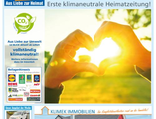 Krupp Verlag produziert erste klimaneutrale Heimatzeitung in Deutschland