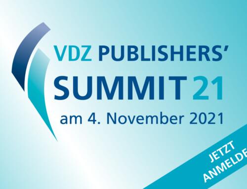 VDZ Publishers' Summit 2021 mit Verleihung der Goldenen Victoria